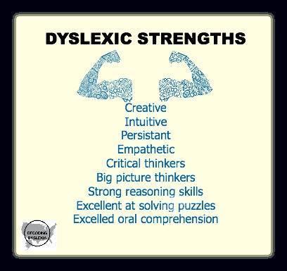 dyslexia strengths