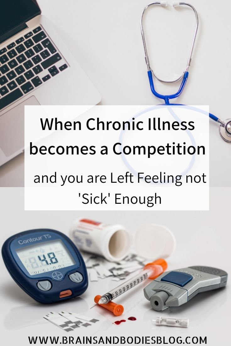 When Chronic Illness becomes a Competition